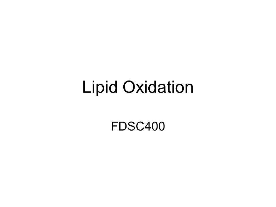 Lipid Oxidation FDSC400