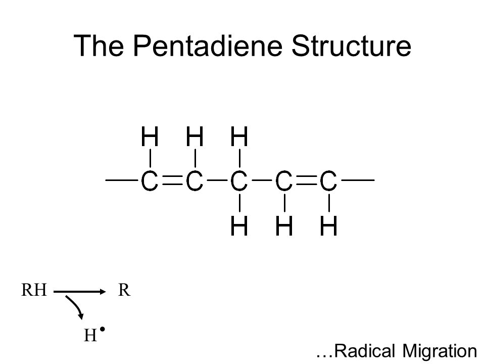 The Pentadiene Structure RHR H. …Radical Migration