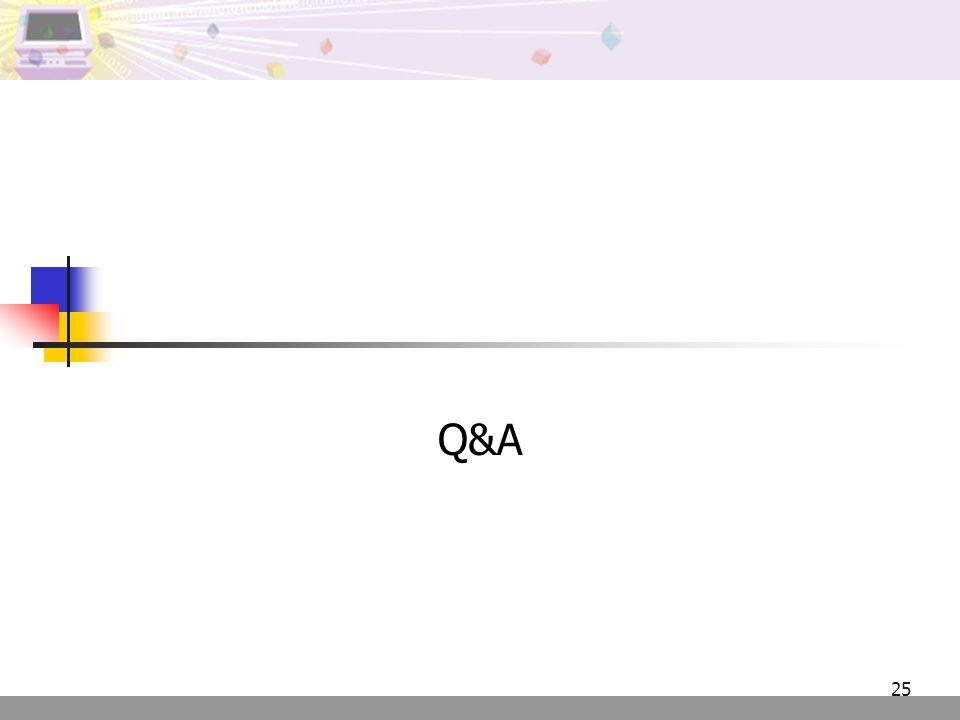 25 Q&A