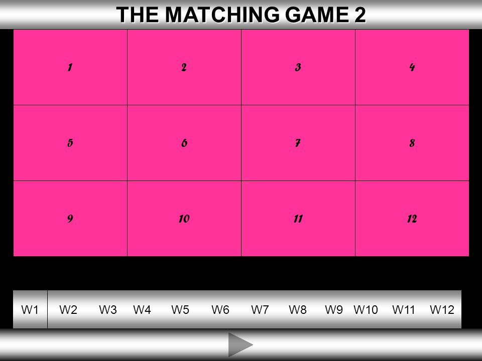 10 THE MATCHING GAME 2 THE MATCHING GAME 2 W1W2W3W4W5W6W7W8W9W10W11W12 ENTREPRENEUR WHERE THE OWNER IS PERSONALLY RESPONSIBLE FOR DEBTS MONEY OWED BY A BUSINESS UNLIMITED LIABILITY CAPITAL WHERE THE PERSON WORKS FOR THEMSELVES PRIVATE SECTOR A PERSON WHO IS A RISK TAKER THE PART OF OUR ECONOMY OWNED BY INDIVIDUALS SELF EMPLOYED MONEY INVESTED IN A FIRM SO IT CAN BUY WHAT IT NEEDS DEBTS 1234 5678 9101112