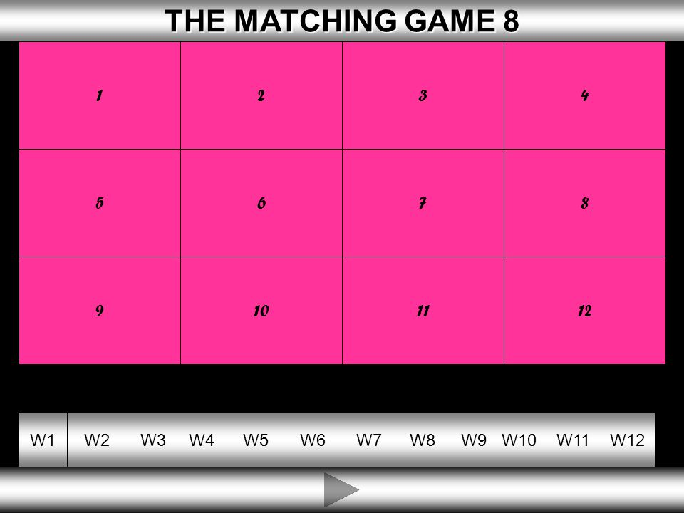 10 THE MATCHING GAME 8 THE MATCHING GAME 8 W1W2W3W4W5W6W7W8W9W10W11W12 ENTREPRENEUR WHERE THE OWNER IS PERSONALLY RESPONSIBLE FOR DEBTS MONEY OWED BY A BUSINESS UNLIMITED LIABILITY CAPITAL WHERE THE PERSON WORKS FOR THEMSELVES PRIVATE SECTOR A PERSON WHO IS A RISK TAKER THE PART OF OUR ECONOMY OWNED BY INDIVIDUALS SELF EMPLOYED MONEY INVESTED IN A FIRM SO IT CAN BUY WHAT IT NEEDS DEBTS 1234 5678 9101112