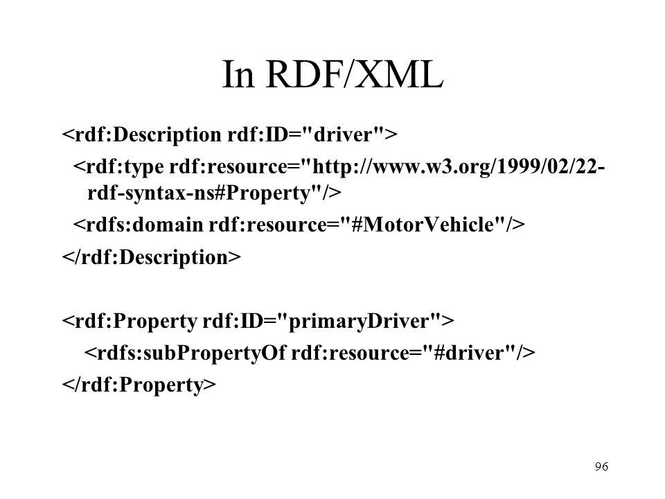 96 In RDF/XML