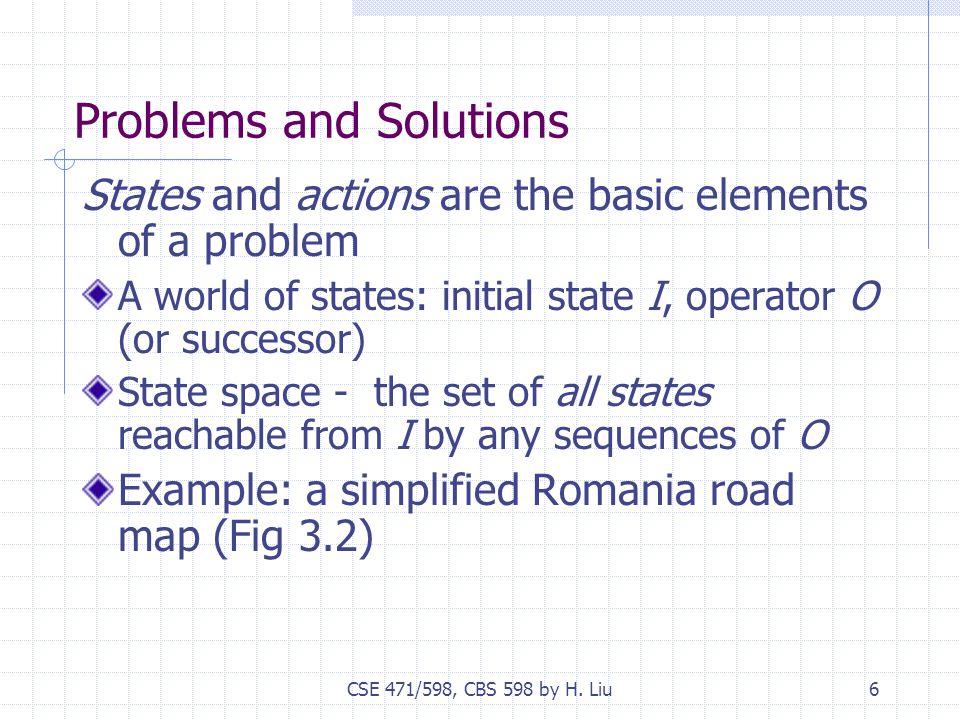 CSE 471/598, CBS 598 by H.