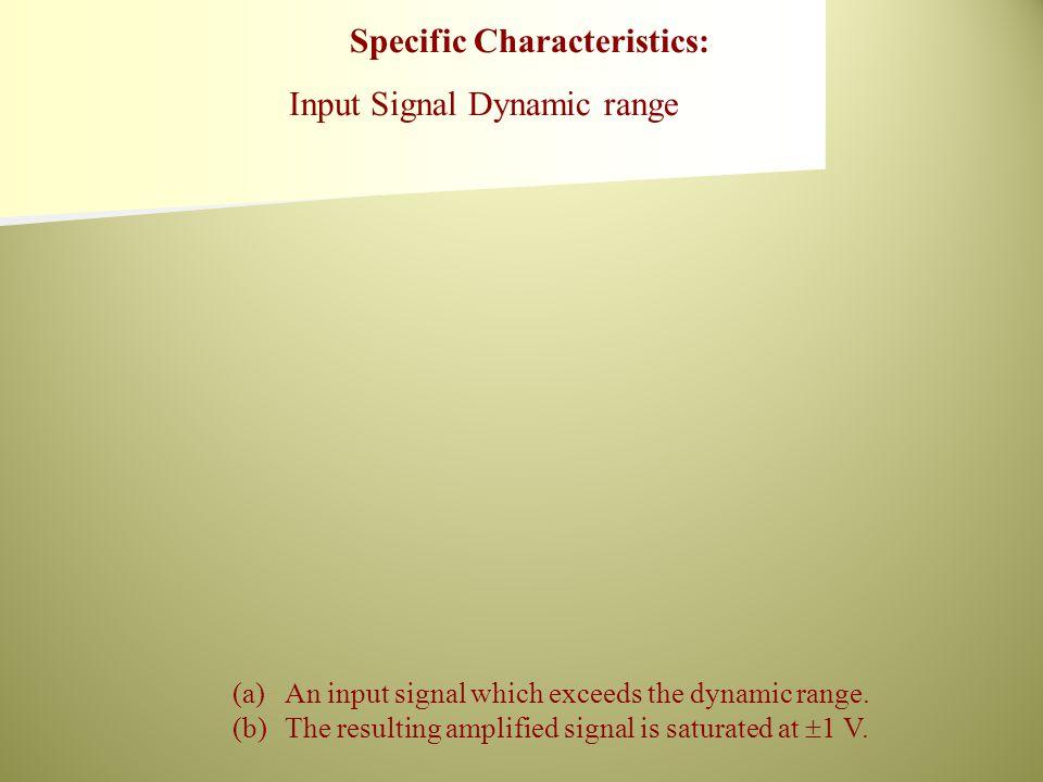 (a)An input signal without dc offset.(b)(b) An input signal with dc offset.