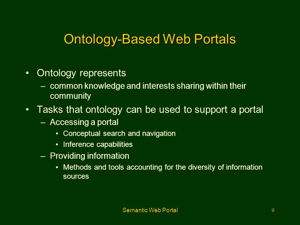 Semantic Web Portal10 Introduction to XML-Based Ontology URIUnicode XMLNamespaces XML Schema Sig RDF M&S RDF Schema Ontology Rules Logic Proof
