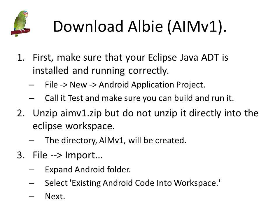 Download Albie (AIMv1).