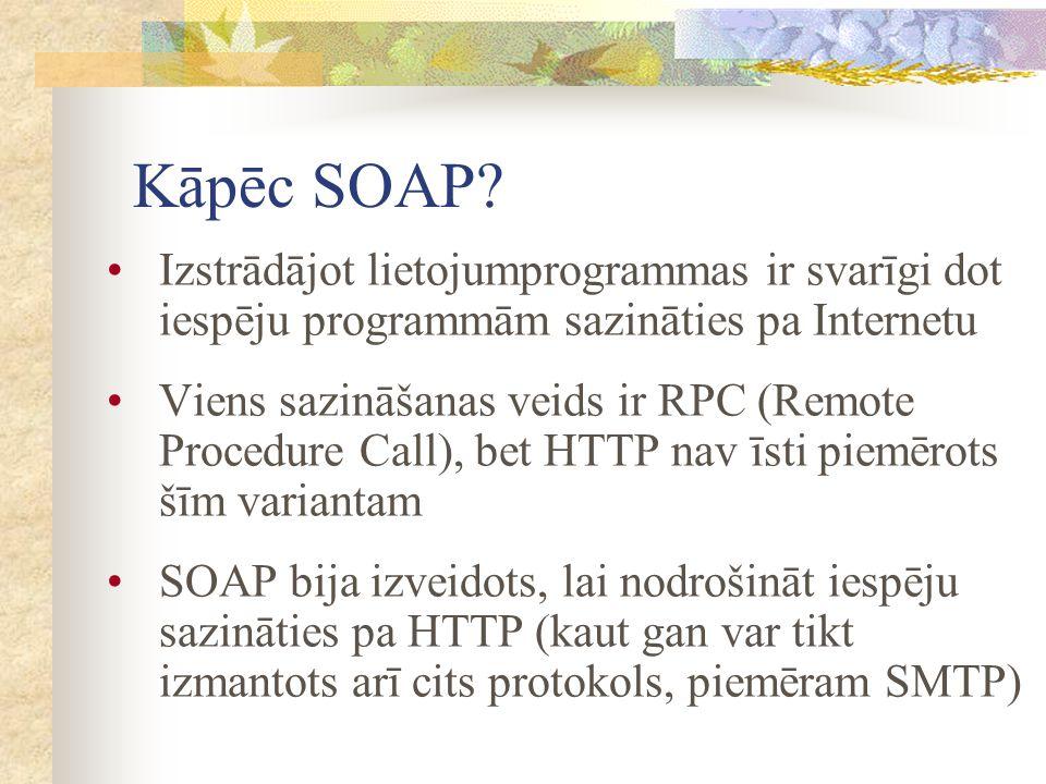 Kāpēc SOAP.