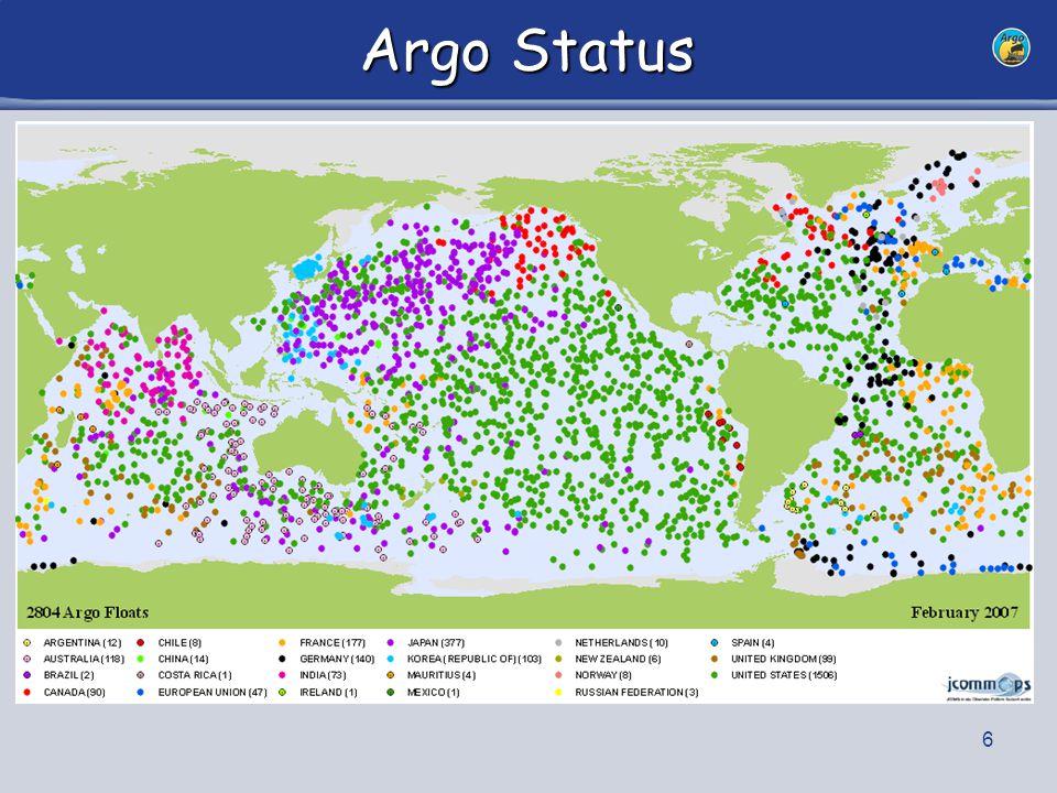 6 Argo Status