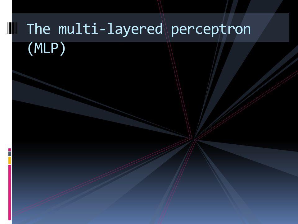 Input layer Hidden layerOutput layer