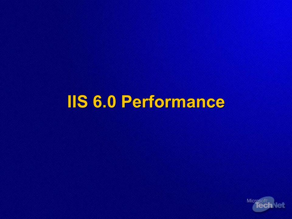 IIS 6.0 Performance