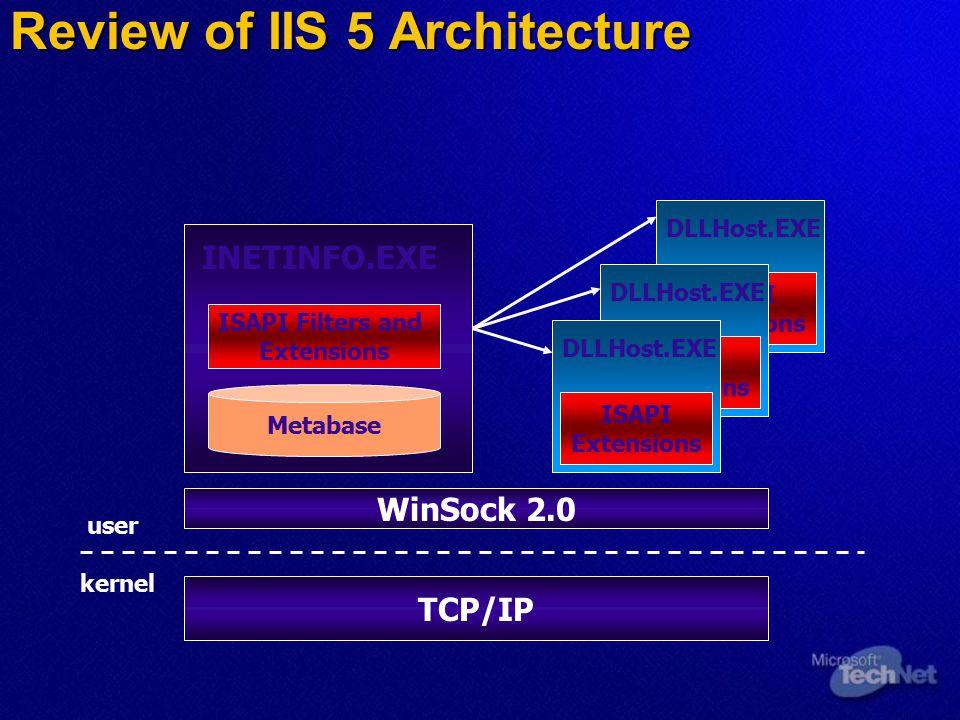 IIS Commands  Create web and FTP Sites c:\>iisweb /create c:\webroot My Site /b 169.254.36.174 c:\>iisweb /create c:\webroot My Site /b 169.254.36.174  Create web and FTP V-Dirs  Backup/Restore  Export/Import Configuration c:\>iiscnfg /import /f MySiteConfig.xml c:\>iiscnfg /import /f MySiteConfig.xml /sp /lm/w3svc/1 /sp /lm/w3svc/1 /dp /lm/w3svc/4 /dp /lm/w3svc/4