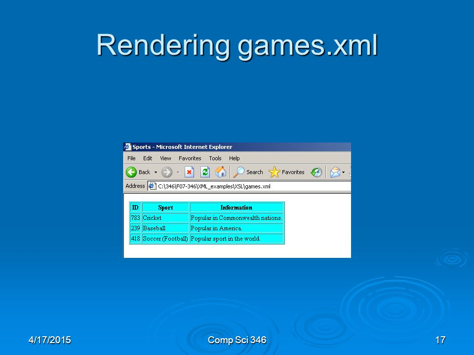4/17/2015Comp Sci Rendering games.xml