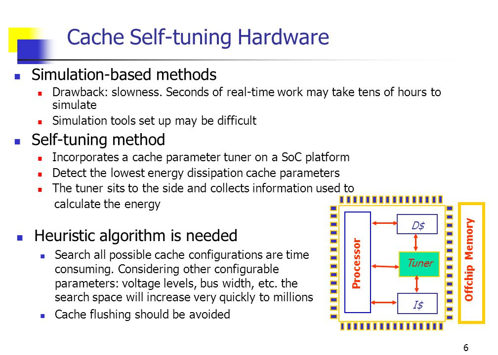 7 Designing a Search Heuristic: Evaluating Impact of Cache Parameters on Miss Rate and Energy Average Instruction Cache Miss Rate and Normalized Energy of the Benchmarks.