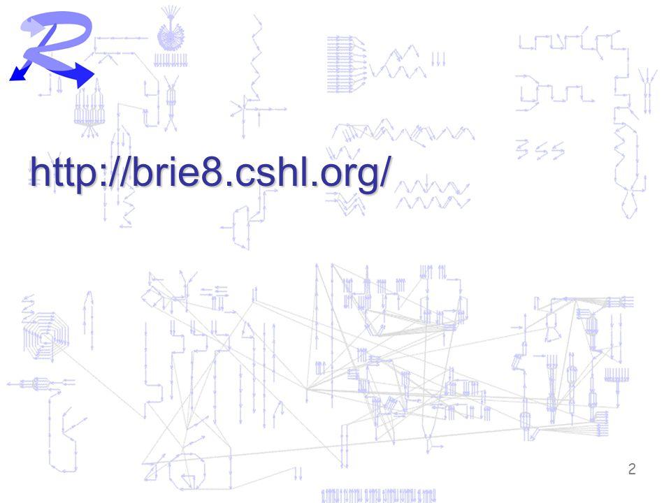 2 http://brie8.cshl.org/