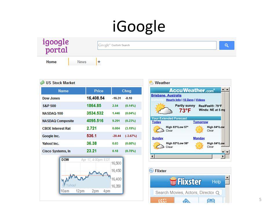 iGoogle 5