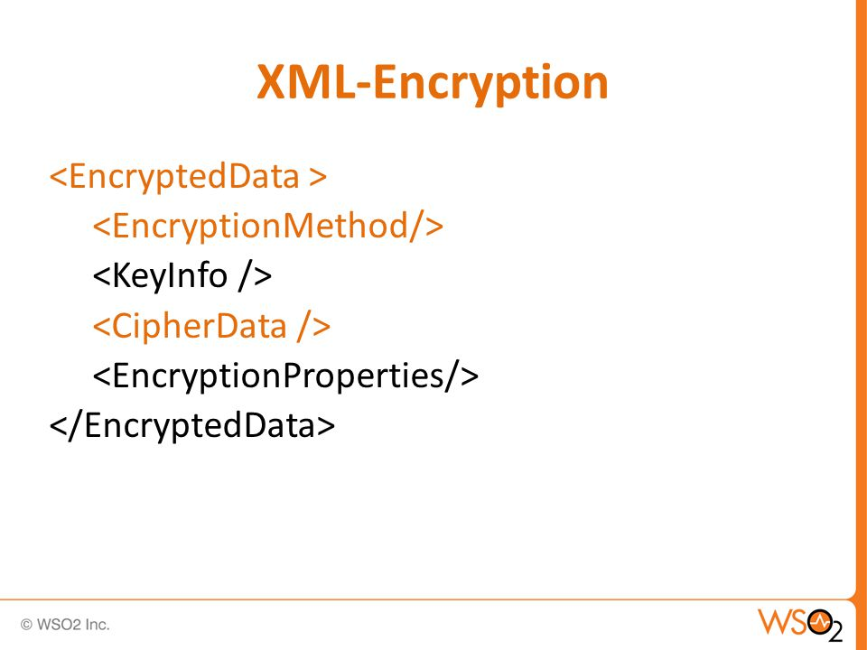 XML-Encryption