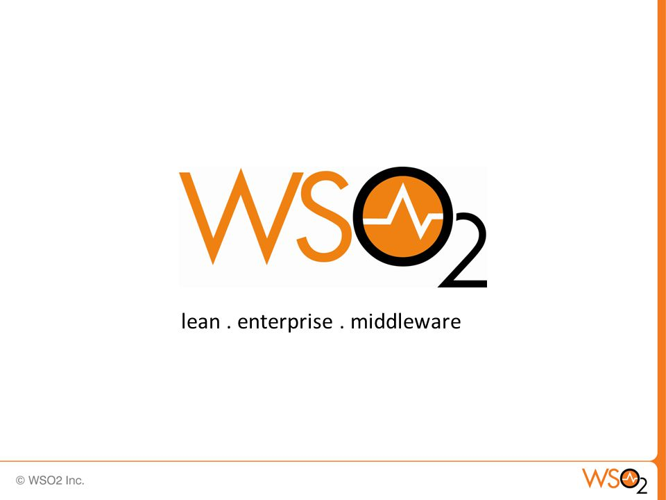 lean. enterprise. middleware