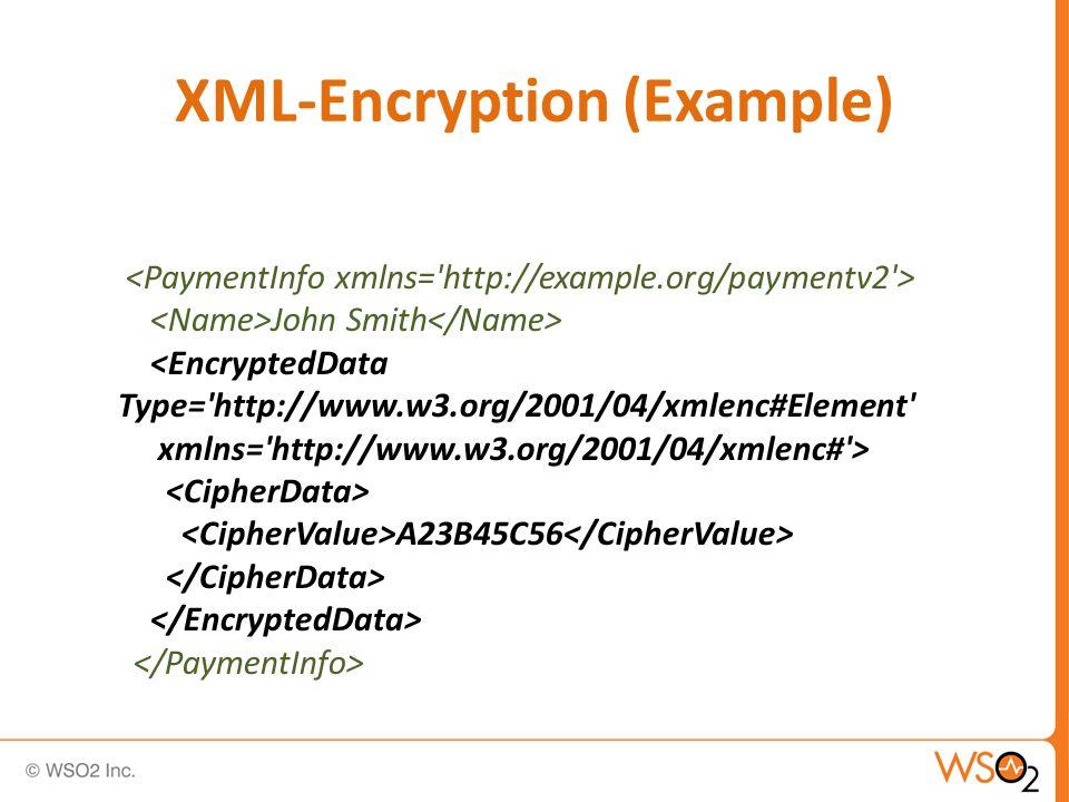 XML-Encryption