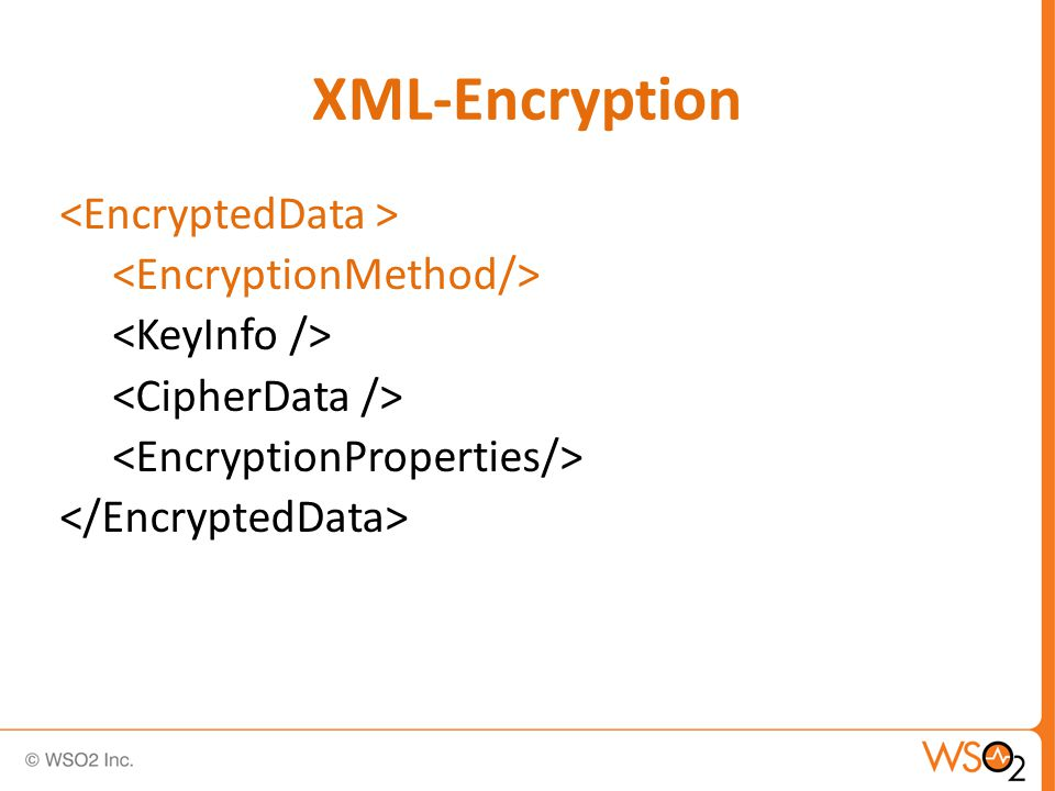 Specify the encryption algorithm to be used.