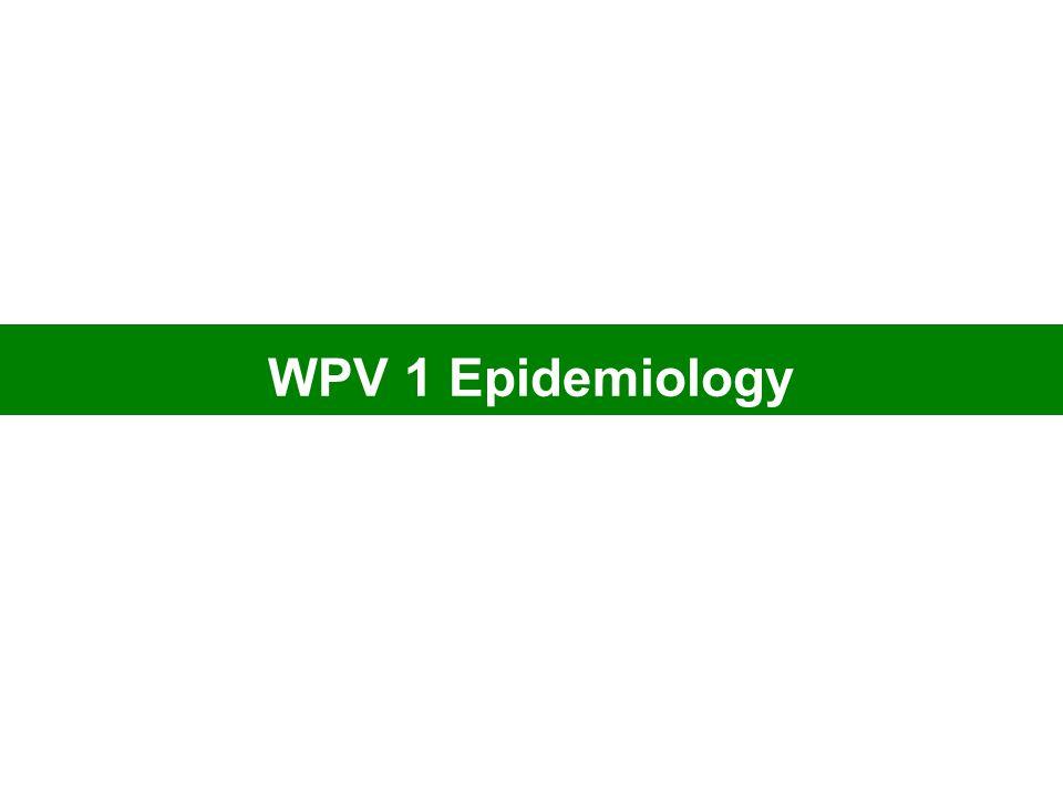WPV 1 Epidemiology