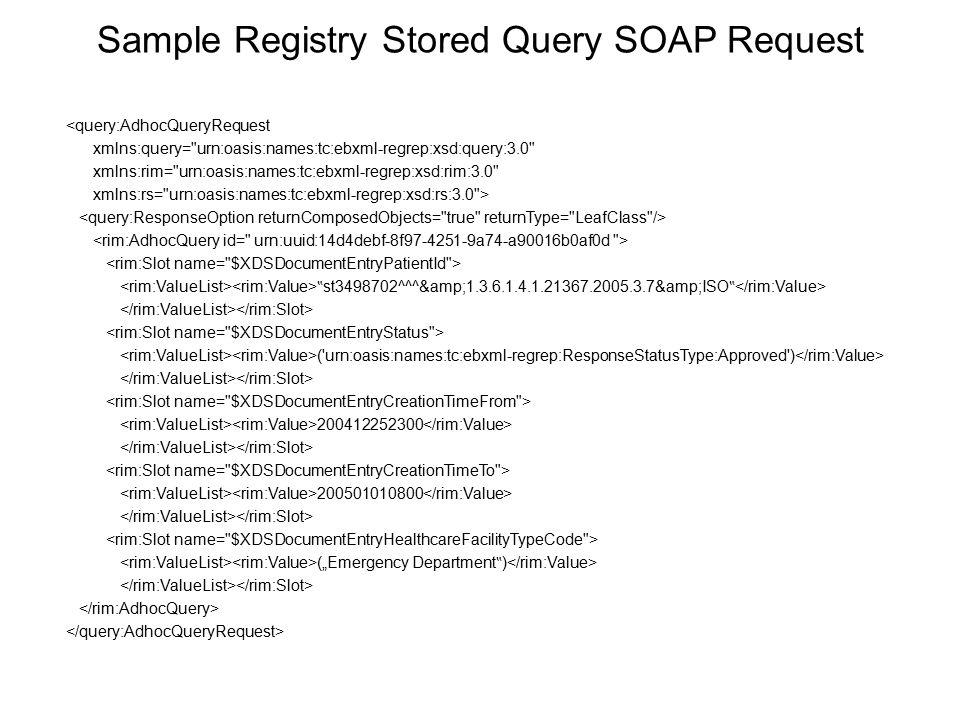 <query:AdhocQueryRequest xmlns:query=