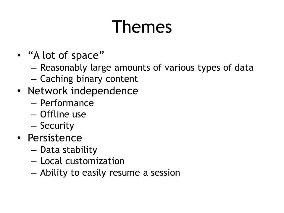 lawnchair persistence.js persistJS amplify.store localStorageDB https://github.com/axemclion/IndexedDB realStorage YUI3 CacheOffline dojox.storage DomSQL Impel ActiveJS ActiveRecord JazzRecord picnet.data.DataManager ShinyCar lscache