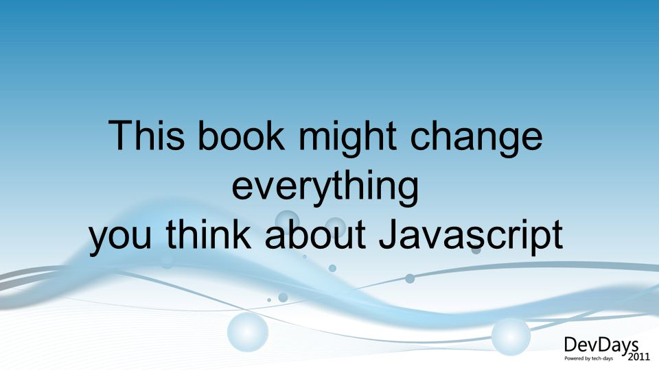 This book might change everything you think about Javascript