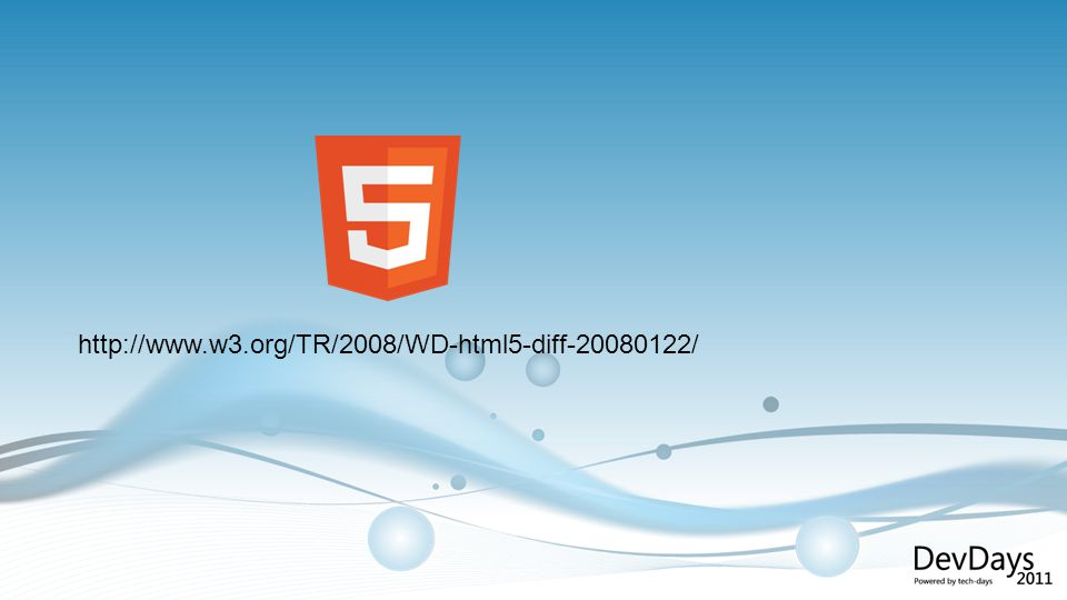 Online for free at http://diveintohtml5.org