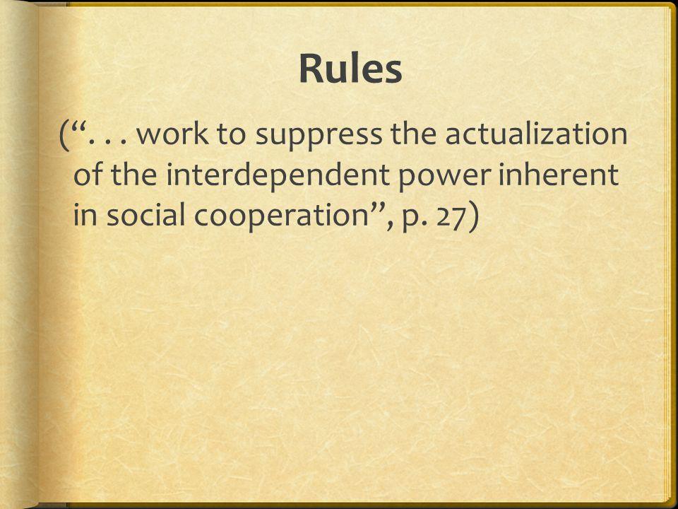 Rules ( ...