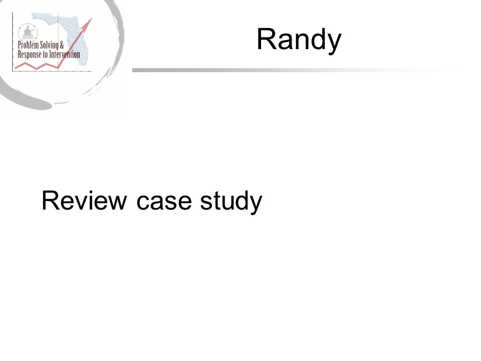 Randy Review case study