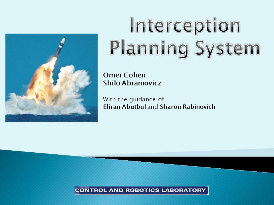 Omer Cohen Shilo Abramovicz With the guidance of: Eliran Abutbul and Sharon Rabinovich