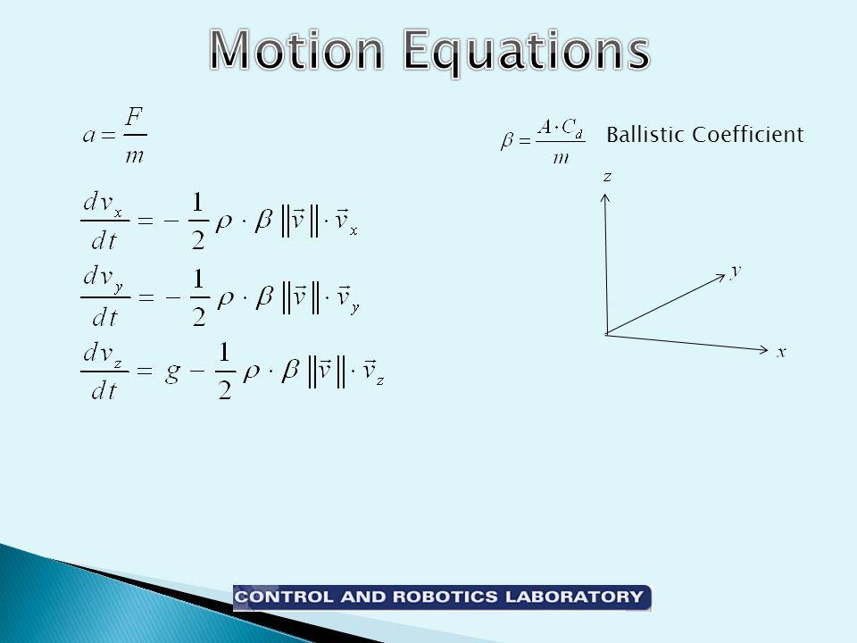 Ballistic Coefficient