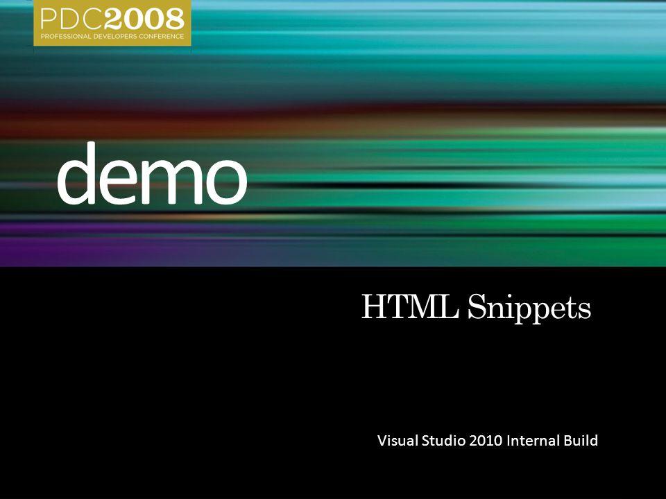 Visual Studio 2010 Internal Build