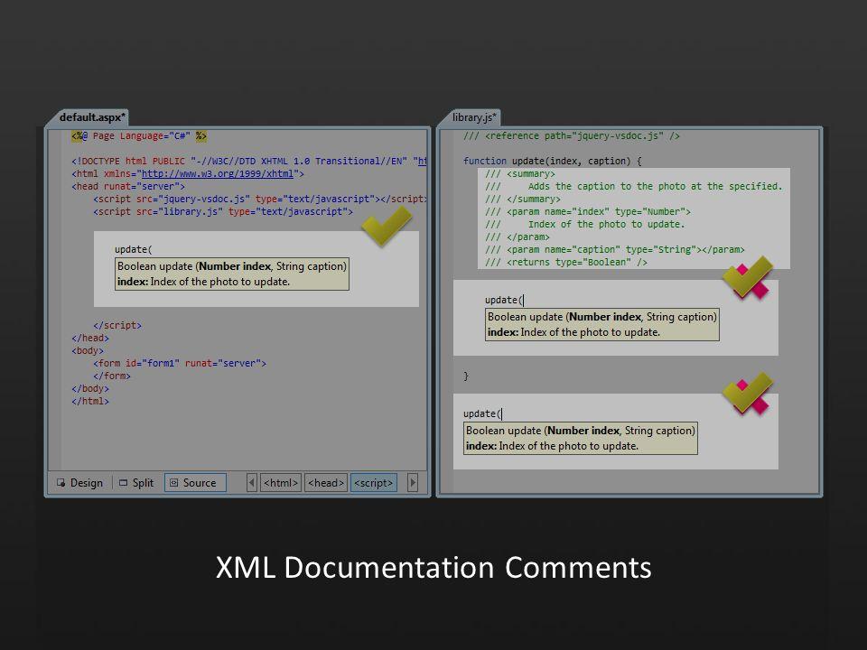 XML Documentation Comments