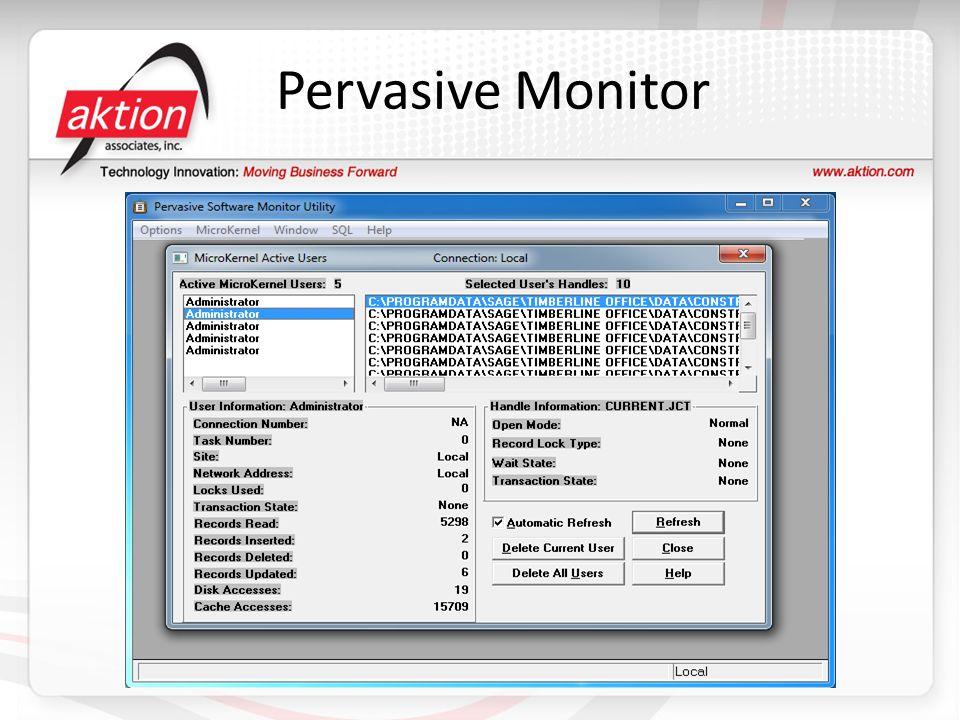 Pervasive Monitor