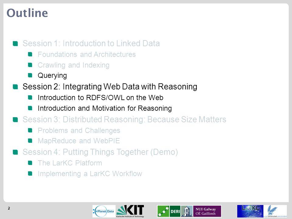 63 Quarantined Reasoning [Delbru et al.; 2008]