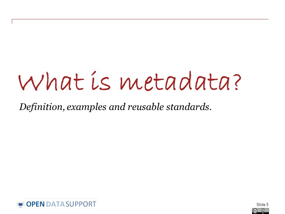 Group exercise and questions Slide 36 In groups of two, select one dataset from your country and describe it with the DCAT Application Profile.