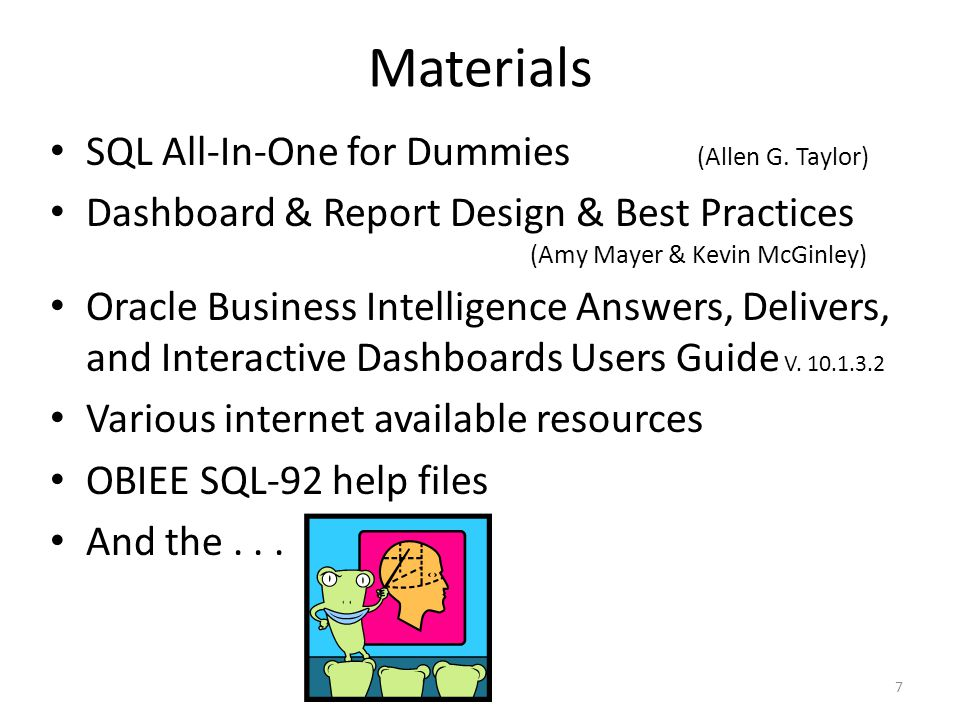 Materials SQL All-In-One for Dummies (Allen G.