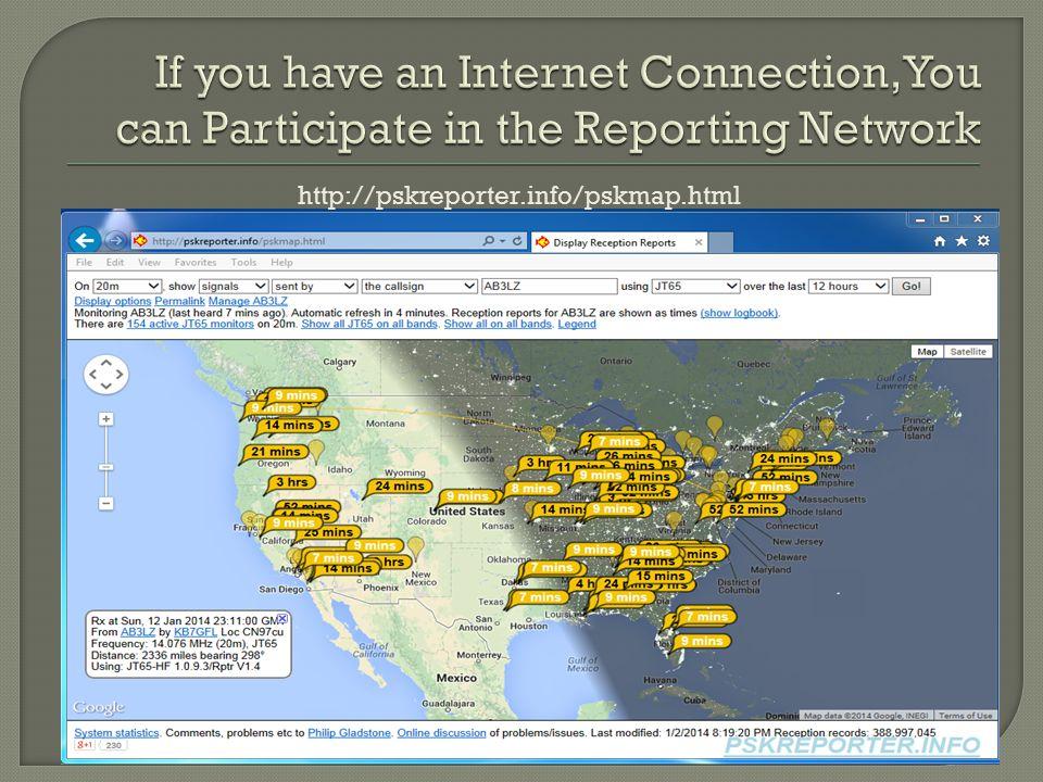 http://pskreporter.info/pskmap.html