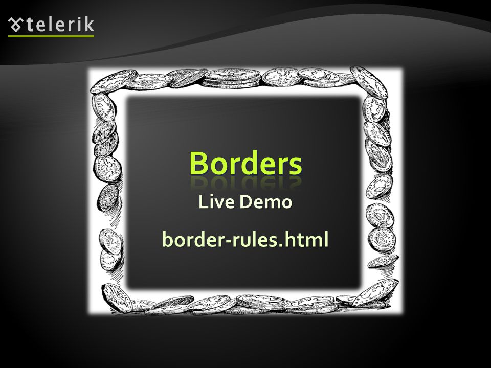 Live Demo border-rules.html