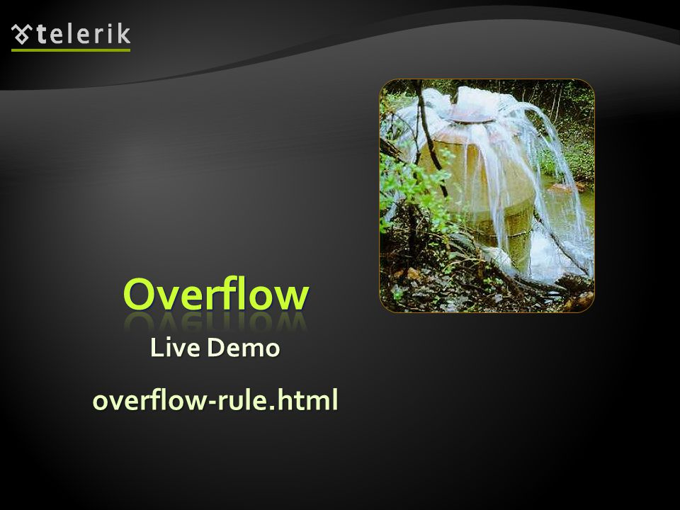 Live Demo overflow-rule.html