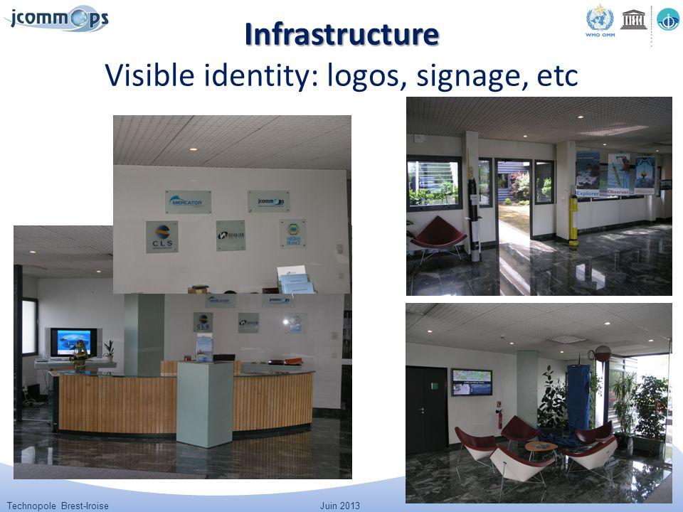 Technopole Brest-IroiseJuin 2013 Infrastructure Infrastructure Visible identity: logos, signage, etc