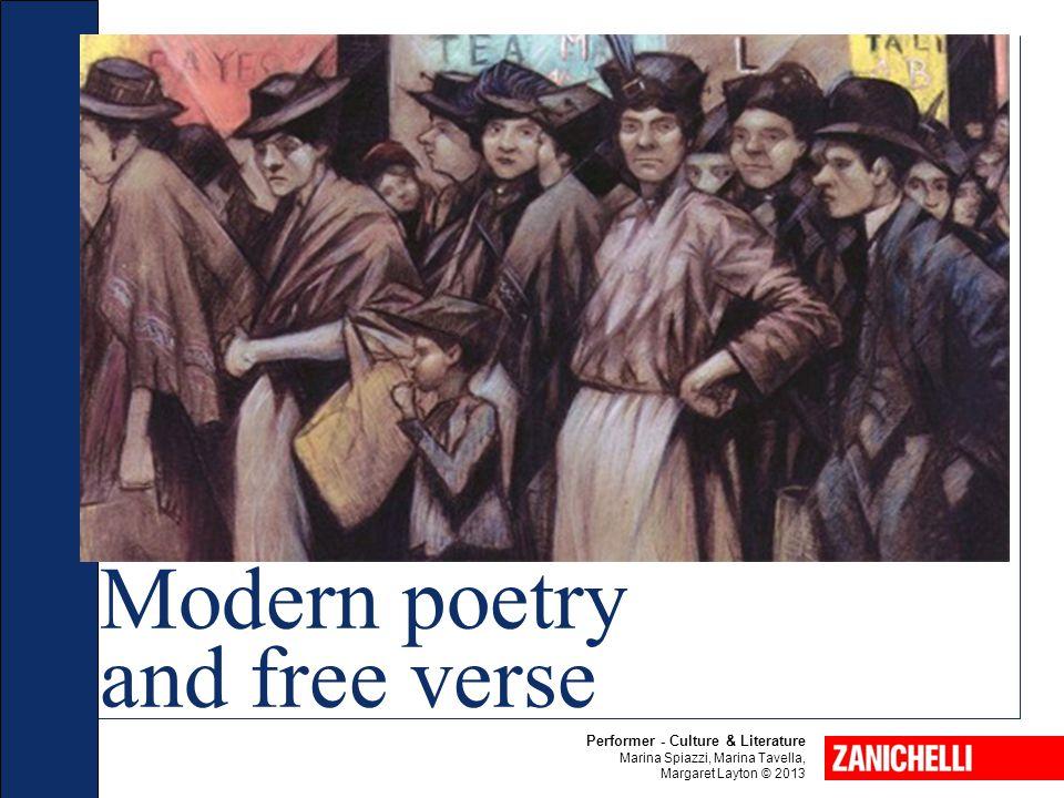 Performer - Culture & Literature Marina Spiazzi, Marina Tavella, Margaret Layton © 2013 Modern poetry and free verse