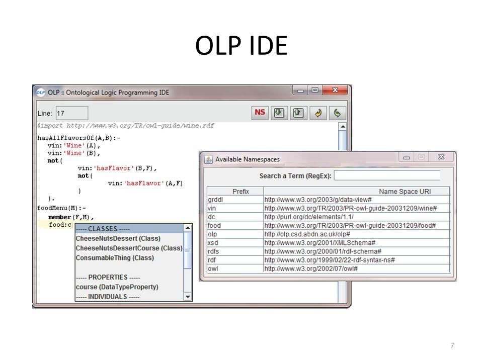 OLP IDE 7