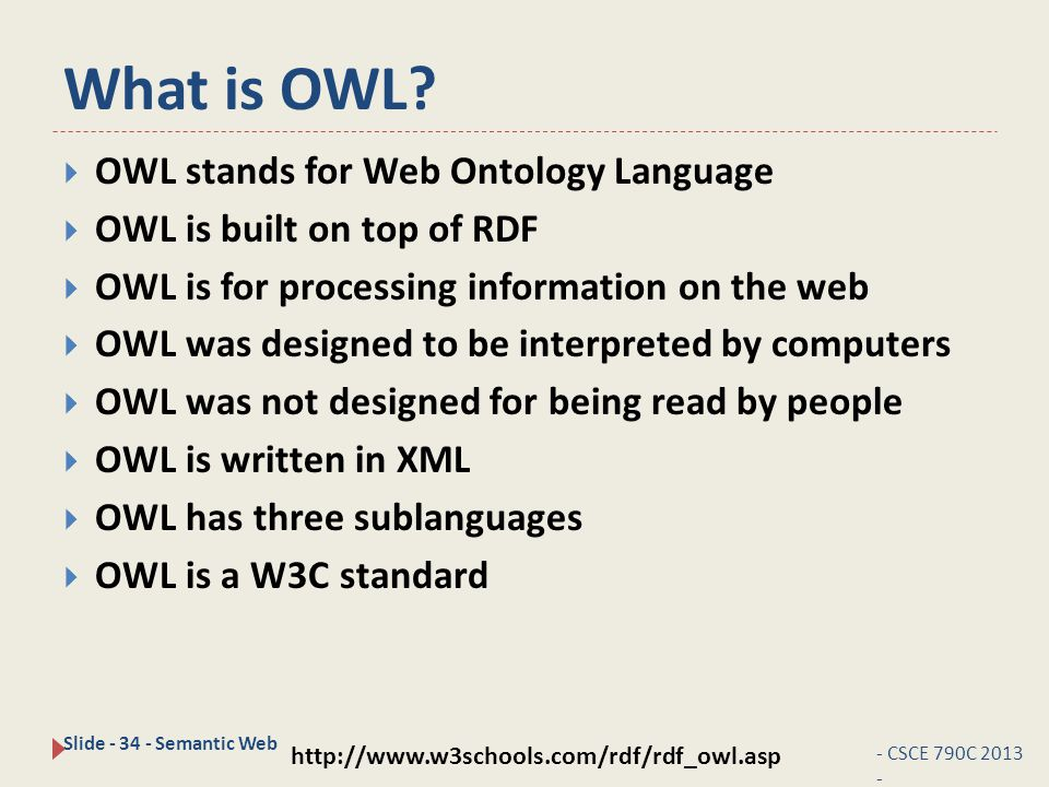 What is OWL.