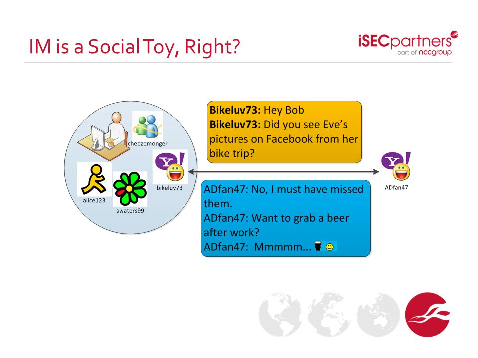 IM is a Social Toy, Right?
