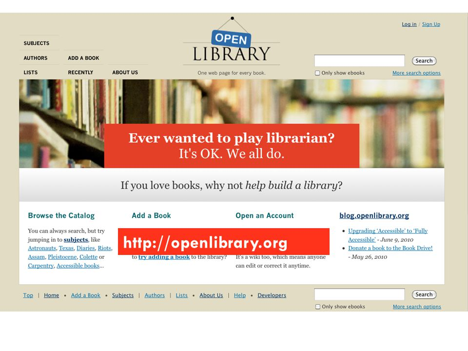 http://openlibrary.org