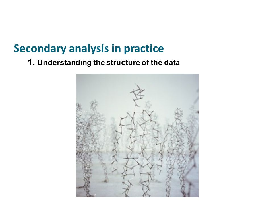Seeking to enable an analytic conversation across data sets..