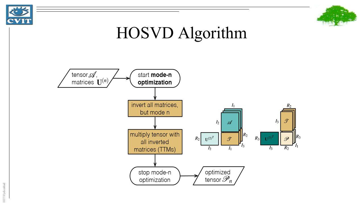 IIIT Hyderabad HOSVD Algorithm