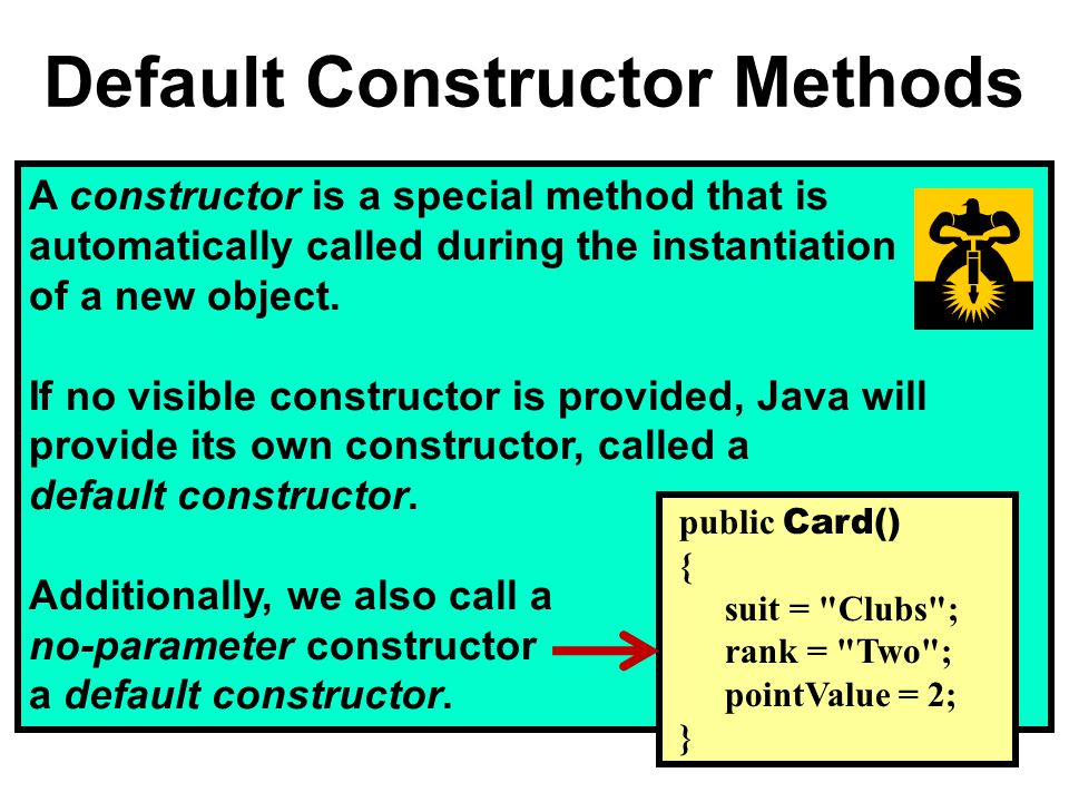 A constructor is a special method that is automatically called during the instantiation of a new object.
